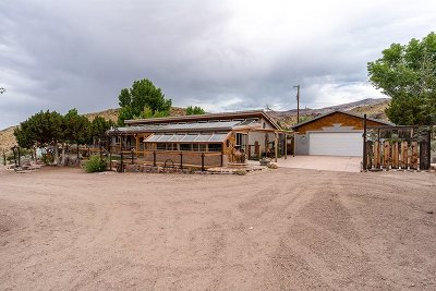Reno Single Family Home Back On Market: 2400 Right Hand Canyon