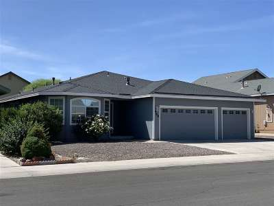 Fernley Single Family Home For Sale: 469 Jennys