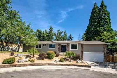 Reno Single Family Home For Sale: 3165 Reanon Ct.