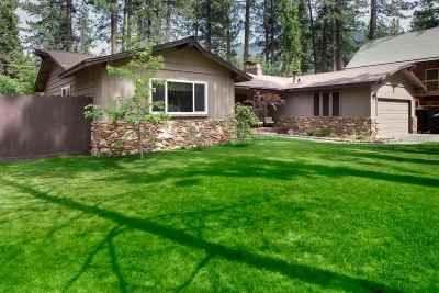 Tahoe City, Stateline, Zephyr Cove Single Family Home For Sale: 185 Pine Ridge Dr