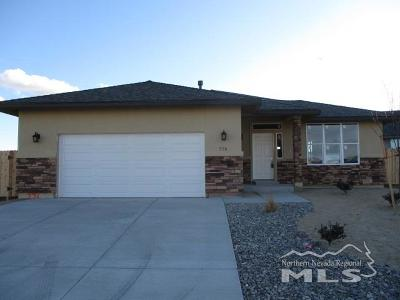Fernley Single Family Home For Sale: 776 Tamsen Lane