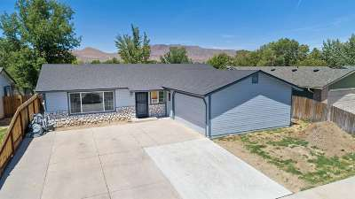 Carson City Single Family Home Active/Pending-Loan: 1510 Slide Mountain Dr
