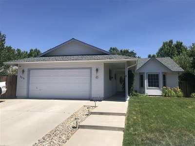 Carson City Single Family Home Active/Pending-Call: 3215 Halleck