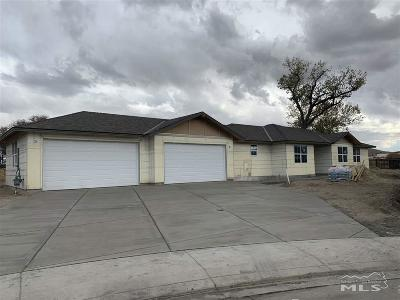 Fernley Single Family Home For Sale: 933 Brigit Circle