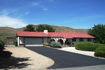 Carson City Single Family Home For Sale: 1990 Maxwell Rd