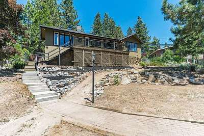 Tahoe City, Stateline, Zephyr Cove Single Family Home For Sale: 619 Alma Way