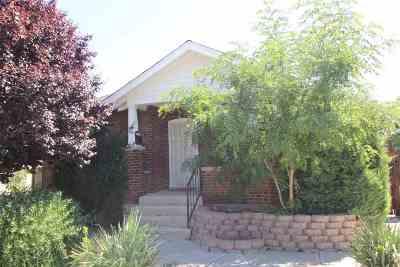 Reno Single Family Home For Sale: 928 Ralston