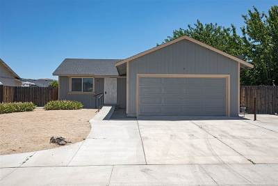 Fernley Single Family Home Active/Pending-Call: 615 Shadow Ln