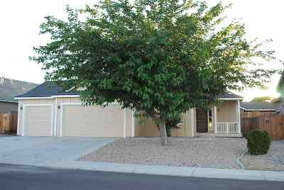 Fernley Single Family Home For Sale: 692 W. Canary Circle