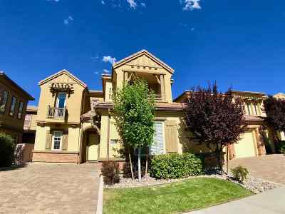 Reno Single Family Home For Sale: 10890 Serratina