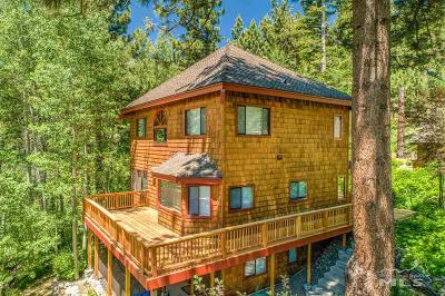 Stateline, Glenbrook, Zephyr Cove, Crystal Bay, Incline Village Single Family Home For Sale: 380 Barrett