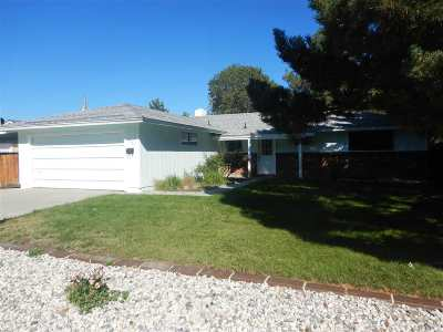 Carson City Single Family Home For Sale: 2501 Merrit Drive