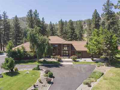 Washoe Valley Single Family Home Price Reduced: 7375 Franktown Road