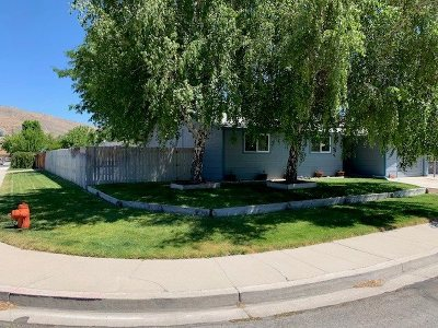 Carson City Single Family Home Active/Pending-Loan: 204 Agate