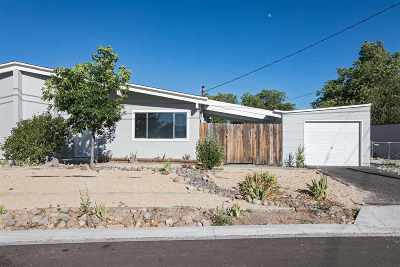 Reno Single Family Home Active/Pending-Call: 13490 Mount Hood St