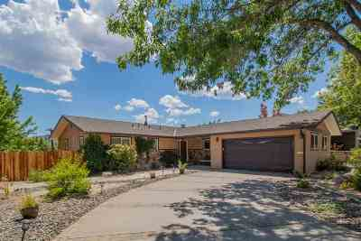 Reno Single Family Home For Sale: 470 Sunnyside Dr.