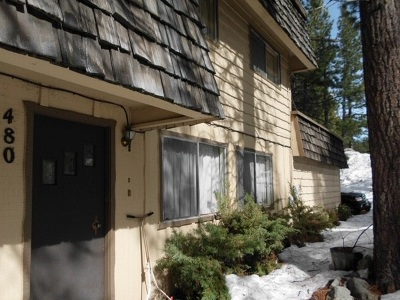 Stateline, Zephyr Cove Condo/Townhouse For Sale: 480 McFaul