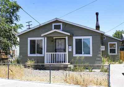 Sparks Single Family Home Active/Pending-Call: 642 15th Street