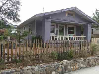 Reno Single Family Home For Sale: 61 Winter St