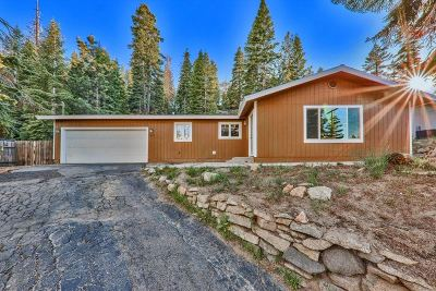 Tahoe City, Stateline, Zephyr Cove Single Family Home For Sale: 460 Barrett Dr