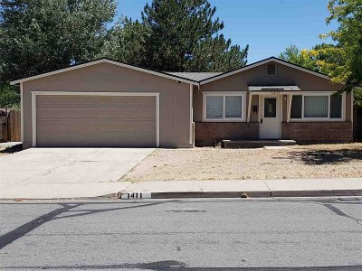 Carson City Single Family Home For Sale: 1411 Stanford Drive