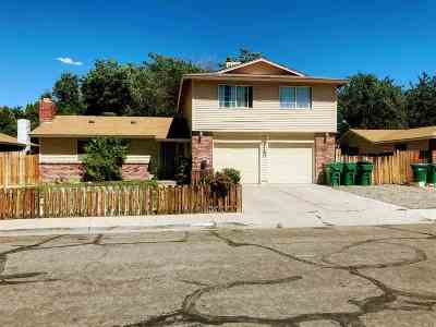 Sparks NV Single Family Home New: $320,000