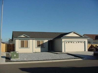 Carson City Single Family Home New: 1261 Figuero Way