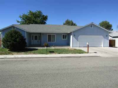 Yerington NV Single Family Home For Sale: $270,000