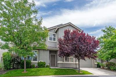 Reno Single Family Home New: 10462 Gold Trail