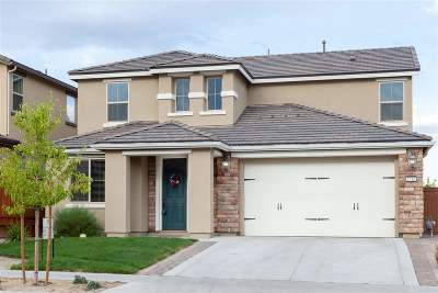 Reno Single Family Home New: 1510 Heavenly View Trail