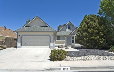 Carson City Single Family Home For Sale: 1561 Walker Drive