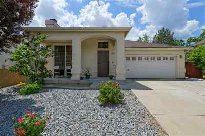 Carson City Single Family Home Price Reduced: 1445 Shadowridge Dr