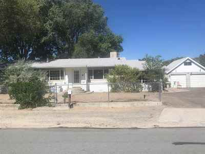 Carson City Single Family Home For Sale: 4920 August Drive