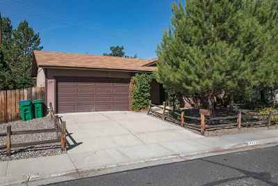 Reno Single Family Home Active/Pending-Loan: 1585 Crown