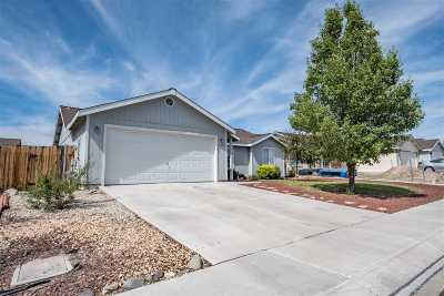 Fernley Single Family Home Active/Pending-Loan: 1568 Reese River Rd.