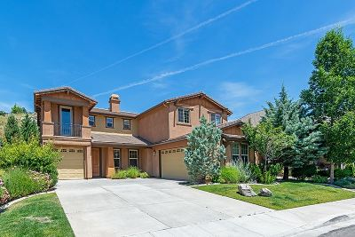 Reno Single Family Home New: 8855 Scott Valley Court