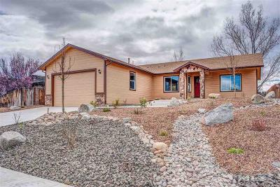 Gardnerville Single Family Home For Sale: 803 Bluerock Rd