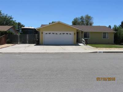 Carson City Single Family Home New: 1315 Kingsley Lane