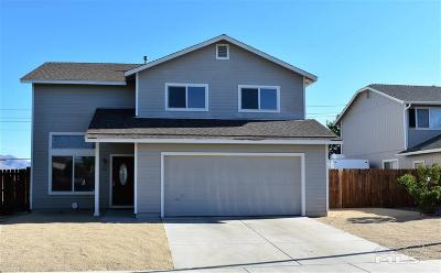 Fernley Single Family Home New: 143 Desert Springs