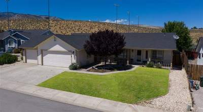 Carson City Single Family Home New: 818 Overview Ct.
