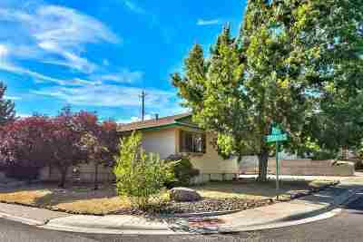 Reno Single Family Home New: 1201 Colusa