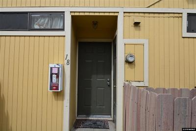 Reno Condo/Townhouse New: 859 Nutmeg Pl #18