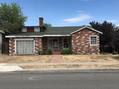 Reno Single Family Home New: 329 Crampton