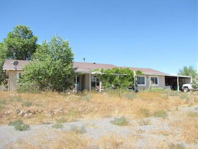 Reno Single Family Home New: 4565 Winnemucca Ranch Road