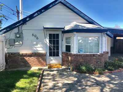 Sparks Single Family Home Active/Pending-Loan: 606 F Street