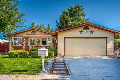 GARDNERVILLE Single Family Home New: 1342 Toiyabe Ave
