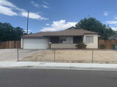 Sparks Single Family Home Active/Pending-Loan: 1460 Russell Way