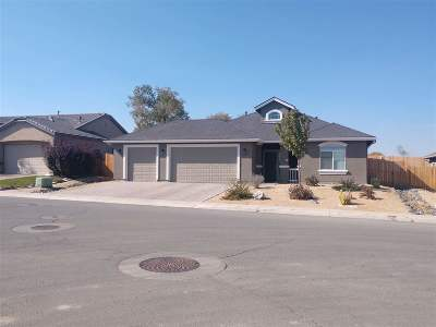 Fernley Single Family Home Back On Market: 2207 Windrow Dr
