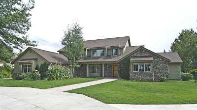 Gardnerville Single Family Home For Sale: 1421 Glenwood