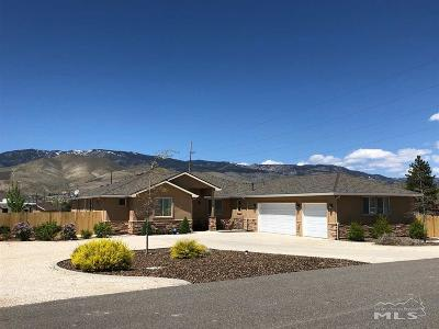 Carson City Single Family Home For Sale: 4320 Northview
